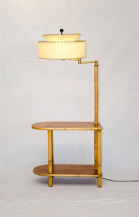 black end table with l attached rattan end table with attached l at 1stdibs
