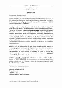 [Lawyer Letters]