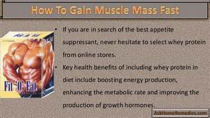 How Natural Mass Gainer Supplements Help To Gain Muscle ...