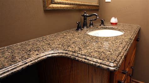 Granite Colors For Bathrooms by Tropic Brown Granite Countertops Bathroom Countertop