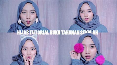 memakai hijab pakai anting terbaru maret