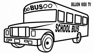 How to Draw School Bus for Baby. Drawings and Coloring ...