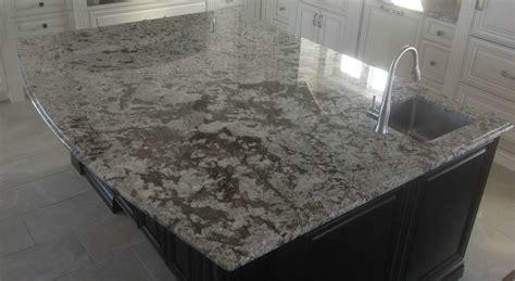 bianco antico granite with ogee edge profile northern