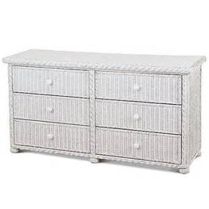 six drawer wicker dresser white walmart com