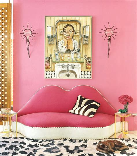 livingroom chair 12 ways to decorate with the color pink stylecaster