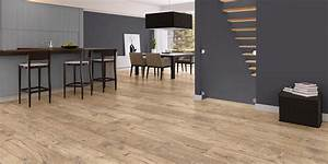 sol stratifie chataignier naturel planches quick step With quick step uniclic parquet stratifié