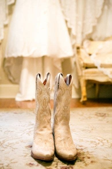 shabby chic wedding shoes wedding shoes shabby chic cowboy boots photo by the collection on every last detail