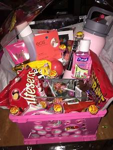 Made A Gift Basket For My Best Friend U0026 39 S Birthday  With Little Things She Likes