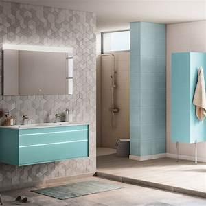meuble salle de bain moderne mobilier armoires etc With salle de bain ultra moderne