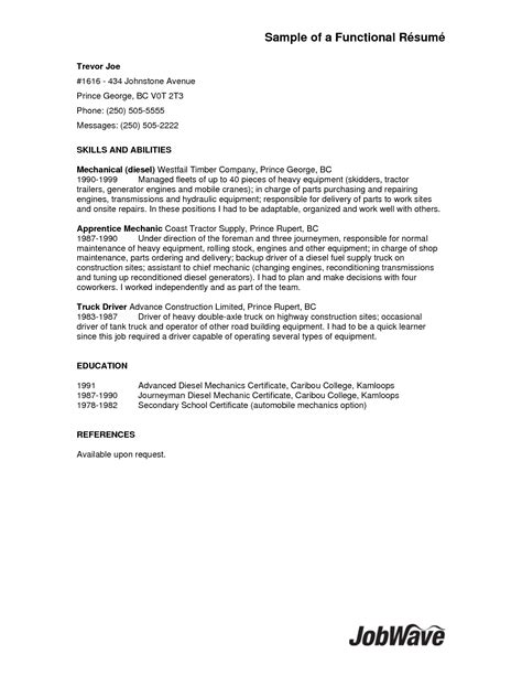 Sle Resume For Cdl Class B Driver by Truck Driver Resume Local Sales Driver Lewesmr