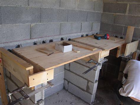 comment faire un plan de travail pour cuisine comment faire un plan de travail en beton maison design