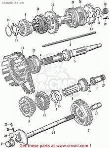Honda Ca77 1960 1961 1962 1963 1964i 1964ii 1964iii Dream Usa  142592  Transmission