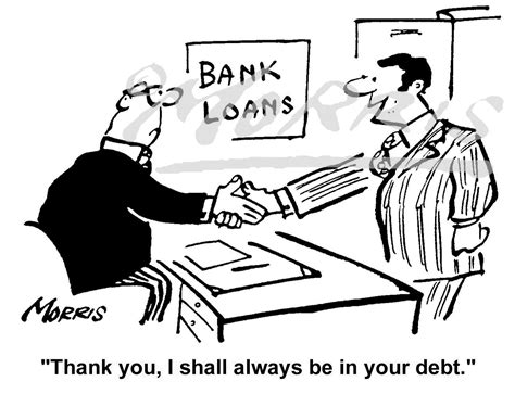 Bank Loans Cartoon