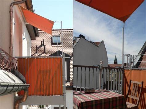 Kleines Sonnensegel Für Balkon by Sonnensegel Balkon Hofs 228 223 Sonnenschutz Infos