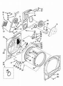 Whirlpool Model Wed6400sw1 Residential Dryer Genuine Parts