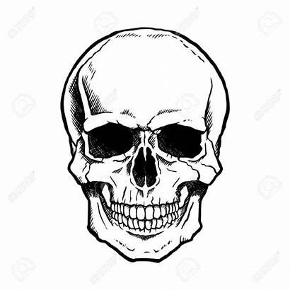 Skull Drawing Realistic Evil Drawings Getdrawings