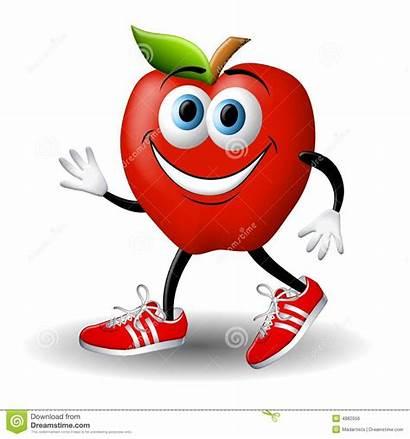 Apple Gesundheit Healthy Running Gesund Andy Clipart