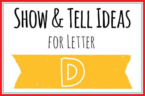 preschool show and tell letter q show and tell letter d 25 ideas for your preschooler 918