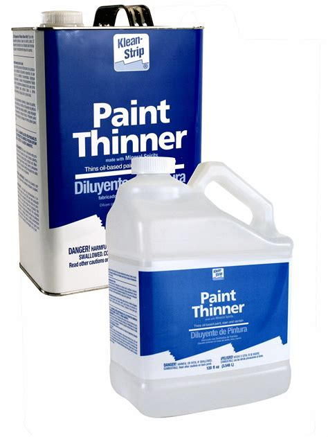 Paint Thinners  Types And Tips  How To Build A House