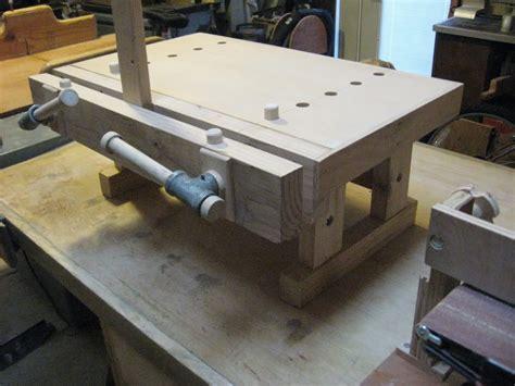 benchtop bench moxon vise  tinnocker