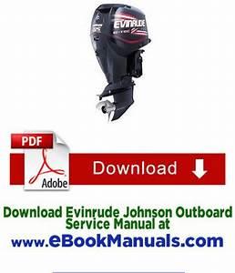 1999 25 Hp Johnson Outboard Manual