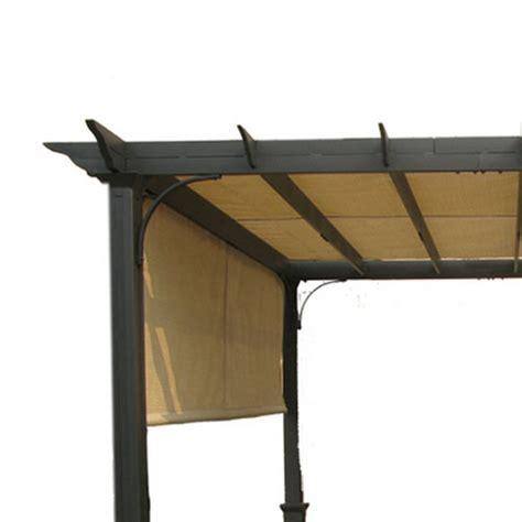 garden treasures pergola canopy lowes garden treasures 10 ft pergola replacement canopy s