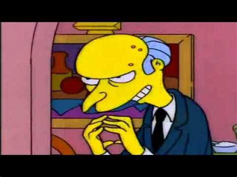 Mr Burns  Excellent  Youtube