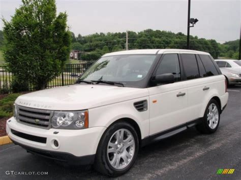 land rover hse white 2006 chawton white land rover range rover sport hse