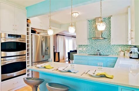 Carribean Kitchen by Decorating With A Caribbean Influence