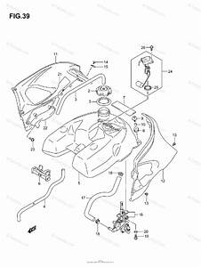 Suzuki Atv 2005 Oem Parts Diagram For Fuel Tank