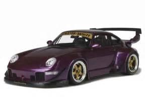porsche rwb purple porsche 911 993 rwb 2015 gt spirit 1 18 autos