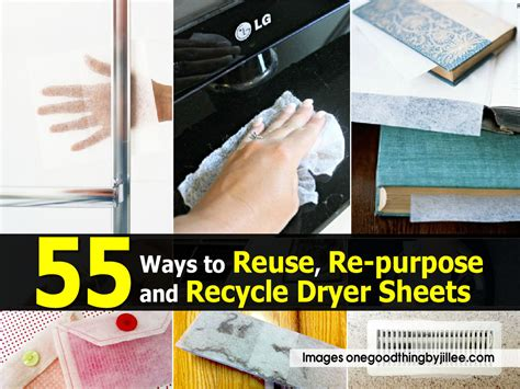 55 ways to reuse re purpose and recycle dryer sheets