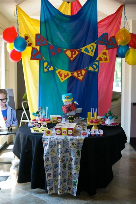 Kara's Party Ideas Superhero Themed Birthday Party. Taupe Living Room Furniture. Wrought Iron Dining Room Chairs. Decorative Bath Towels Sets. Room Rental Agreements. Decorative Strawberries. Room Privacy Screen. Decorative Pedestals. Room Difuser