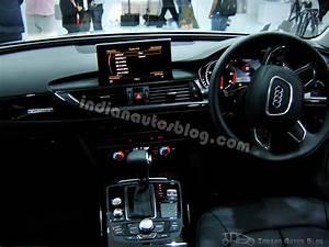 Audi A6 India interiors - Indian Autos blog