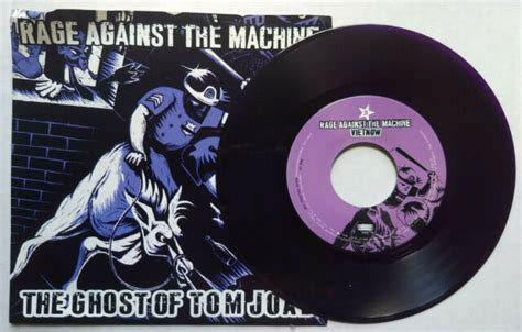 RAGE AGAINST THE MACHINE Ghost Of Tom Joad b/w Vietnow ...
