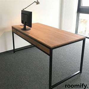 Schreibtisch 1 Klasse : industrial schreibtisch roomify m bel online shop ~ Markanthonyermac.com Haus und Dekorationen