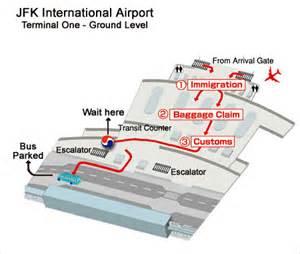 Similiar JFK Arrivals Terminal 1 Map Keywords
