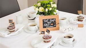 Tischdeko Schulanfang Ideen : kaffee tisch deko schulanfang einschulung erster schultag selber machen diy noch kreativ ~ Avissmed.com Haus und Dekorationen