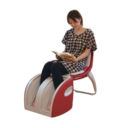 inada cube massage chair and foot massager inada massage