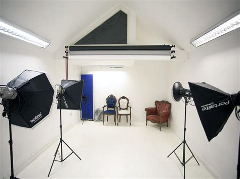 desain studio foto unik  dekorasi interior