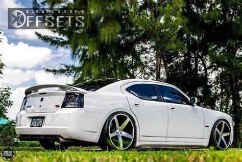 wheel offset  dodge charger flush dropped  custom rims customoffsets pinterest wheels