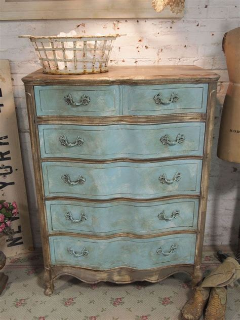 cottage chic furniture painted cottage chic shabby aqua dresser the