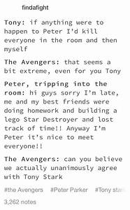 Irondad   Heroe... Peter Parker Father Quotes