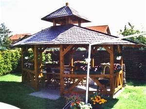 Grill überdachung Holz : grill pavillon holz wohn design ~ Buech-reservation.com Haus und Dekorationen