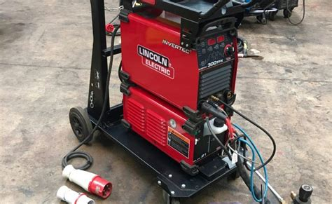 lincoln electric invertec tpx  water cooled dc tig