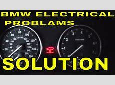 BMW e90 e91 e92 e93 car start but no electrical power in