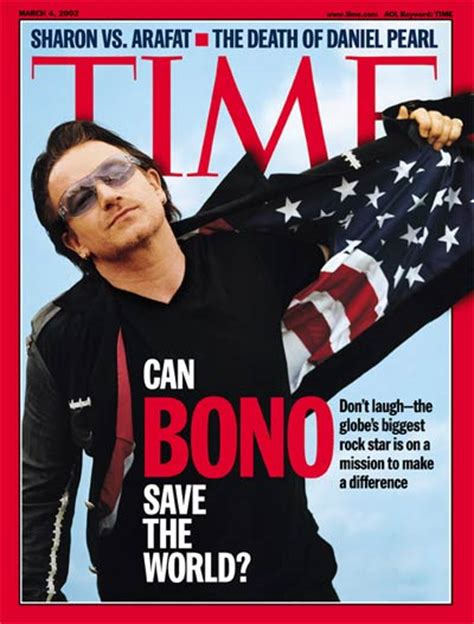 bono magazine cover 2 time magazine cover bono mar 4 2002 u2 rock