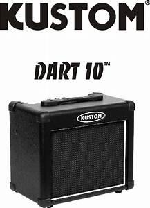 Kustom Stereo Amplifier Dart 10 User Guide