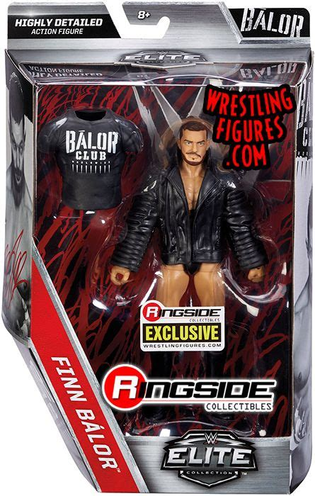 balor club finn balor ringside collectibles exclusive wwe toy wrestling action figure  mattel