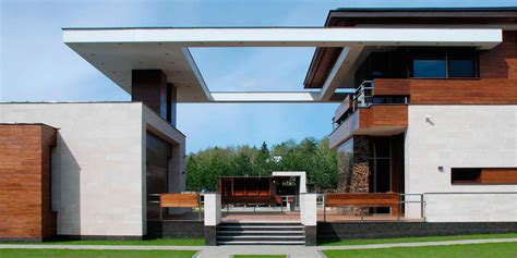 impressive contemporary house in moscow russia